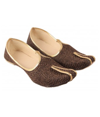 AMAZING TRADERS Jute Juti,Shoes for Mens/Boys (Black Color)