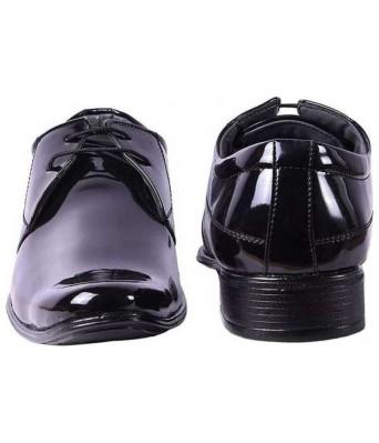 Ramoz Black patent Formal Shoes for men