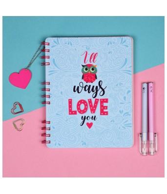 Hopeless Romantic Notebook