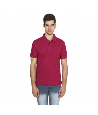 XEE Regular Fit High-Low Polo T-shirt