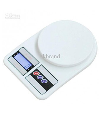 Sasta Bazar Kitchen Digital Weighing Scale with Capacity Upto 10 Kgs | Multi Coloured|