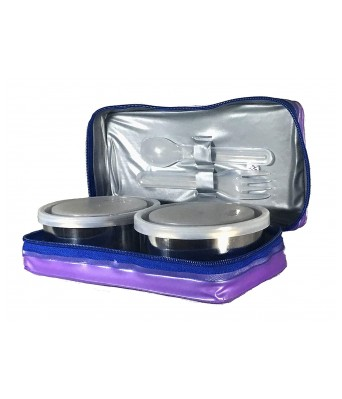 Milton Mini Lunch 2 Container (Color and Design May Vary)