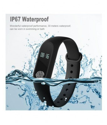 M-2 Waterproof Heart Monitoring Fitness Smart Band (Compatible with all Android & IOS Devices - features similar to MI watch)