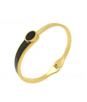 Gold Plated Stainless Steel Kada for Women & Girl