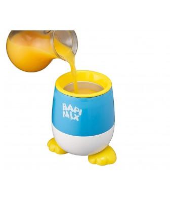 Doshisha Hapi Mix Slush Maker Cup from Japan  Make Healthy Frosty Treats at Home  Blue Color