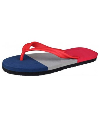 Mens Flip Flop Red & Black Multicolor And Slipper