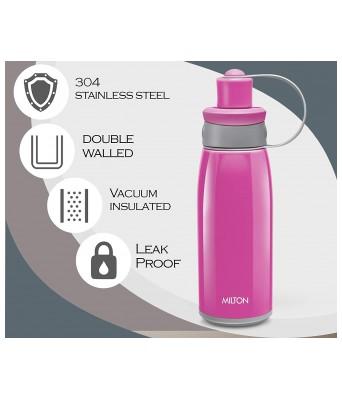 Milton Bravo-900 Stainless Steel Bottle, 750ml, Pink