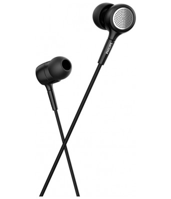 Philips IN-SHE1515BK/94 Headset with Mic (Black)
