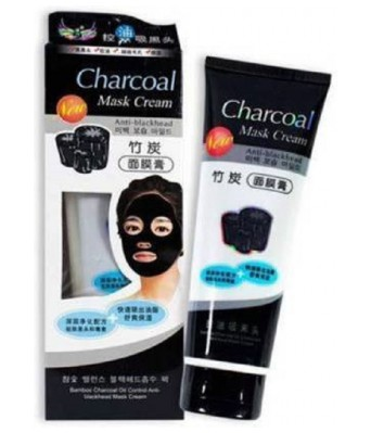 JINPRI CharCoal Peel Off Mask | Deep skin cleansing Mask 130gm