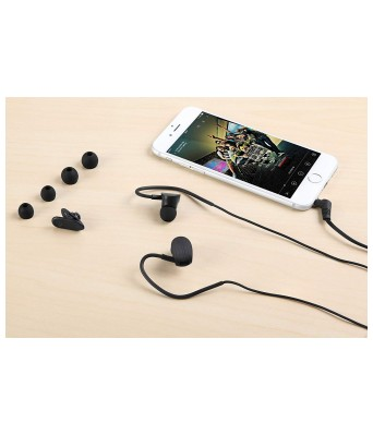 Zoook ZM-Jazz X1 in-Ear Headphones with Mic (Black)