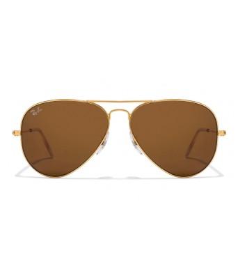 KDH sunglasses gold frame brown glass for man