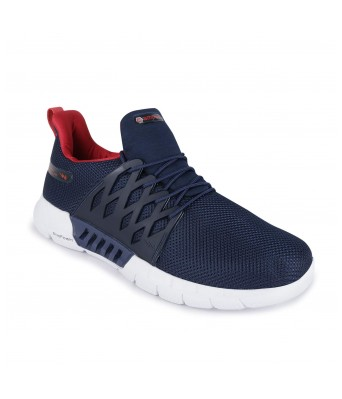 Campus Men's Belgium Navy Red Running Shoes