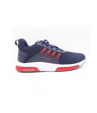 Columbus Brazil men's Running Shoes (Navy/Rust)