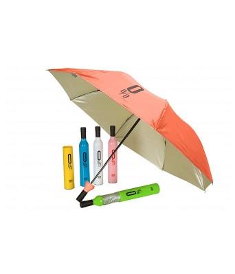Sasta Bazar Online Exclusive Wine Bottle Umbrella for Women for Rain & Uv Protection | Outdoor Car Umbrella for Men & Women