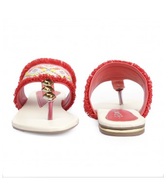 Bxxy's Synthetic Material Flat Stylish Slipper for Women's and Girls