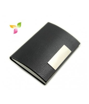 Personified buy personified products online at best price in superdeals leather and steel business card holder reheart Gallery