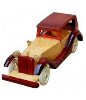 Royals Pride Wooden Vintage Classic Vehicle Car Toy