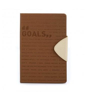 Goals Brown Notebook