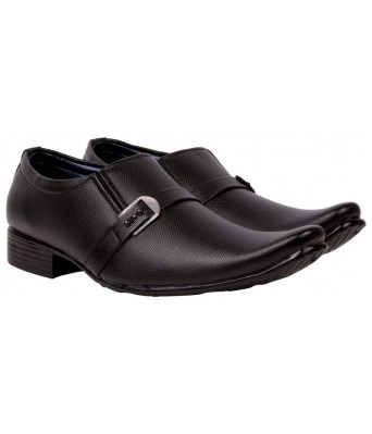 Day Breakers Trendy Formal Black Color Slip On For Mens and Boys