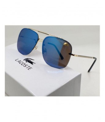stylish lacoste blue sunglasses for men