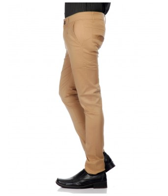 Ansh Fashion Wear Mens  Strechable Regular Wear Chinos