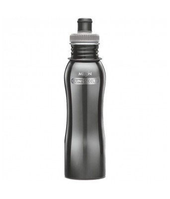 Milton Easy Grip Stainless Steel Water Bottle 750 ml Black