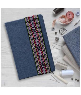 Needle Craft Blue Notebook