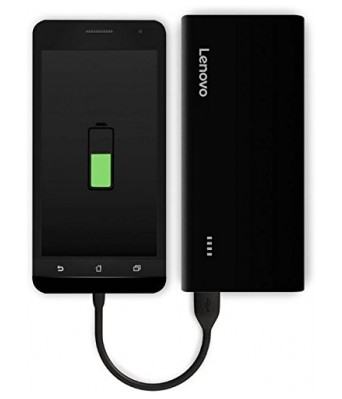 Lenovo 10400 mAh Power Bank (PA) (Black, Lithium-ion)