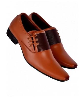 Man Brown Formal Shoes