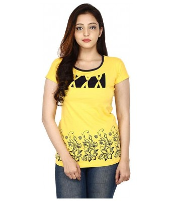 Romile Fashion Casual wear Multi color Printed top for Womens & Girls
