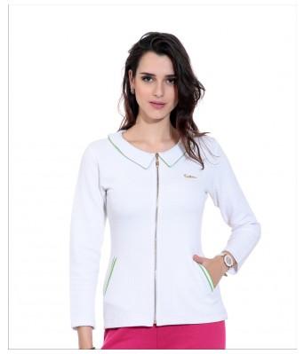 WoMEN Sweatshirt White Long Sleeves Sweatshirt