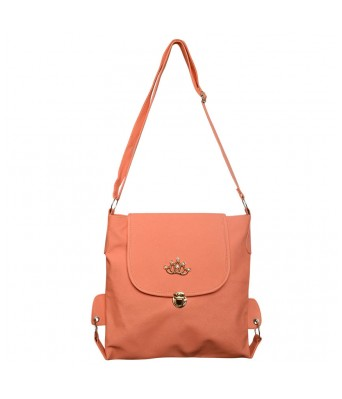BUEVA Non Leather Stylish Sling Bag Peach Color