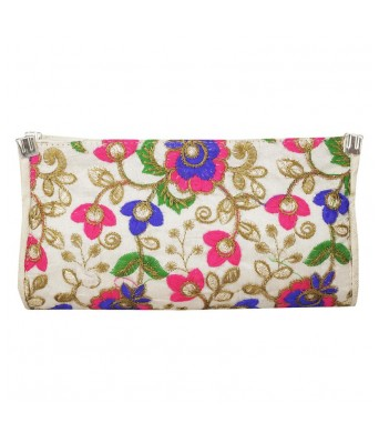 Girls Casual Evening Party Multicolor Synthetic Fabric Clutch