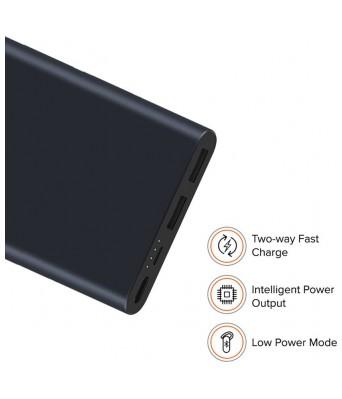 Mi 20000 mAh Power Bank (PLM06ZM, 2i)  (Black, Lithium Polymer)