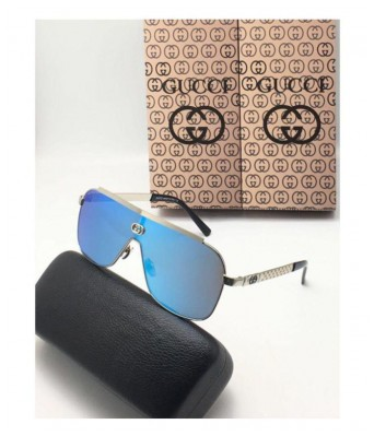 crazy new gucci men blue sunglasses