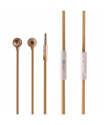 M9 In Ear Wired Headphone with Mic - Gold bass-driven stereo sound superior design Earphones30