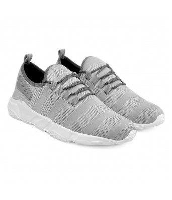 BXXY Men's Grey Casual Running Sports Shoes (Joggers)