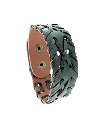 Saizen Leather Bracelet