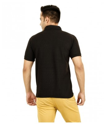 Rock Hudson Cotton Blend Polo T-Shirt For Mens