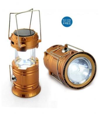 Vizio Solar Lantern With Torch Buy 1 Get 1 Free (multicolor)