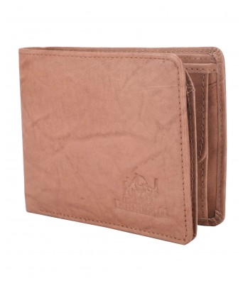 BullKraft Mens Casual Maroon Color Formal Genuine Leather Wallet