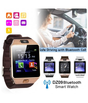 DMD DZ09 Smartwatch Bluetooth Sweatproof Phone with Camera