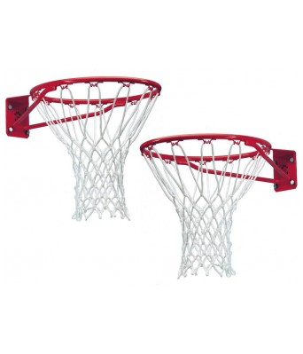 Queen Sports Industries Premium quality Nylon Basketball Net  (White)