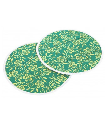 JINPRI Cotton Round Traditional Roti mat Cover  Chapati Covers Multi Color(Set of 1-2pcs)