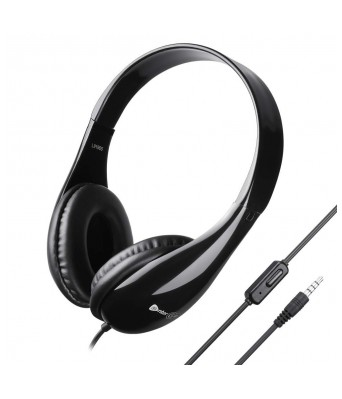 Enter-Go Stunner X2 Wired Headphone - for PC  Mobile  Tablet  Music Player (iPod  ipad) (Black)