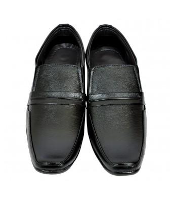 Altek Designer Shiny Black Formal Shoe