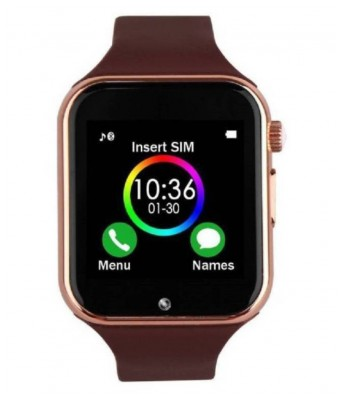 SARGA NEWLOOKS Unisex A1 Smart watch (Golden)