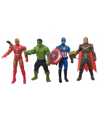 Avengers Toys Set Captain America, Ironman, Hulk, Ant Man and Thor-Infinity War 5 Action Hero Collection