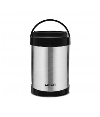 Milton Royal 4 Insulated Stainless Steel Tiffin Box, 600 ml, Steel Plain