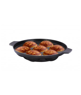 Sajni Fantastic Paniarram Appam Patra with lid  175 mm